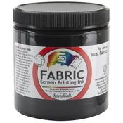 Black - Fabric Screen Printing Ink 8oz
