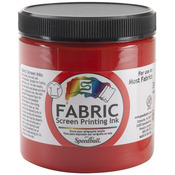 Red - Fabric Screen Printing Ink 8oz