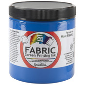 Blue - Fabric Screen Printing Ink 8oz