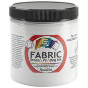 White - Fabric Screen Printing Ink 8oz