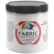 White - Fabric Screen Printing Ink 8oz