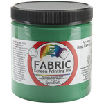 Green - Fabric Screen Printing Ink 8oz