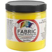Yellow - Fabric Screen Printing Ink 8oz