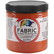Orange - Fabric Screen Printing Ink 8oz