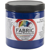 Process Cyan - Fabric Screen Printing Ink 8oz