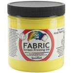 Process Yellow - Fabric Screen Printing Ink 8oz