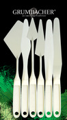 Grumbacher Palette Knife Set 6/Pkg
