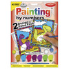 """Dinosaurs & Volcano - My First Paint By Number Kit 8/75""""X11.375"""""""