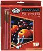 Assorted Colors - Essentials Oil Paint 12ml 18/Pkg