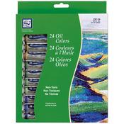 Assorted Colors - Oil Paint 12ml 24/Pkg
