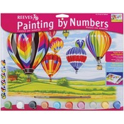 "Hot Air Balloons - Paint By Number Kit 12""X16"""