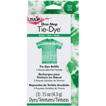 Green - Tulip One-Step Tie-Dye Refill .13oz 3/Pkg