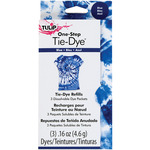 Blue - Tulip One-Step Tie-Dye Refill .13oz 3/Pkg
