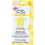 Yellow - Tulip One-Step Tie-Dye Refill .13oz 3/Pkg