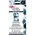 Black - Tulip One-Step Tie-Dye Refill .13oz 3/Pkg