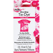 Fuschia - Tulip One-Step Tie-Dye Refill .13oz 3/Pkg