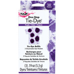 Purple - Tulip One-Step Tie-Dye Refill .13oz 3/Pkg