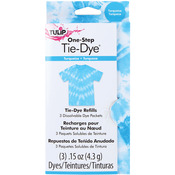 Turquoise - Tulip One-Step Tie-Dye Refill .13oz 3/Pkg