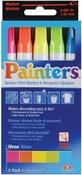 Neon Colors - Elmer's Painters Opaque Paint Markers Medium Point 5/Pkg
