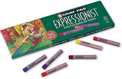 Assorted Colors - Cray-Pas Expressionist Oil Pastels 25/Pkg