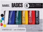 Assorted Colors - Liquitex Basics Acrylic Paint 118ml 6/Pkg