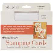 """Stamping - Strathmore Cards & Envelopes 5""""X7"""" 10/Pkg"""