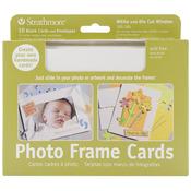 """White Photo Frame - Strathmore Cards & Envelopes 5""""X7"""" 10/Pkg"""