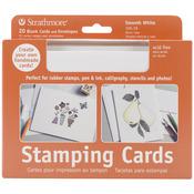 """Stamping - Strathmore Cards & Envelopes 5""""X7"""" 20/Pkg"""