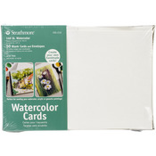 """Watercolor - Strathmore Cards And Envelopes 5""""X7"""" 50pkg"""