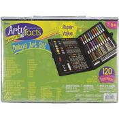 120pcs - Artyfacts Portable Studio Deluxe Art Set