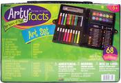 68pcs - Artyfacts Portable Studio Art Set