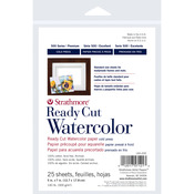 """140lb 25 Sheets Cold Pressed - Strathmore Watercolor Paper 5""""X7"""""""