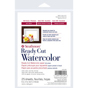"""140lb 25 Sheets Hot Pressed - Strathmore Watercolor Paper 5""""X7"""""""