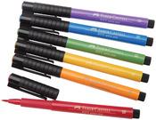 Faber Castell - PITT Artist Manga Brush Pens 6/Pkg Multicolor