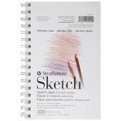 "50lb 100 Sheets - Strathmore Sketch Book 5.5""X8.5"""