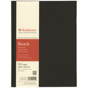 """60lb 192 Pages - Strathmore Sketch Book 8.5""""X11"""""""