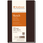 "60lb 192 Pages - Strathmore Sketch Book 5.5""X8.5"""
