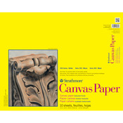 "115lb 10 Sheets - Strathmore Canvas Paper Pad 16""X20"""