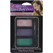 Princess - Tulip Body Art Face And Body Paint Set 4pc