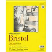 100lb 20 Sheets - Strathmore Bristol Smooth Paper Pad