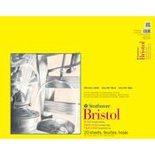 "100lb 20 Sheets - Strathmore Smooth Bristol Paper Pad 19""X24"""