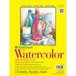 "140lb Cold Press 12 Sheets - Strathmore Watercolor Paper Pad 9""X12"""