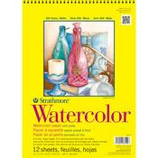 "140lb Cold Press 12 Sheets - Strathmore Watercolor Paper Pad 11""X15"""