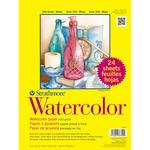 "140lb Cold Press 24 Sheets - Strathmore Watercolor Paper Classpack 9""X12"""