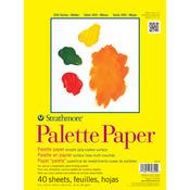 "41lb 40 Sheets - Strathmore Palette Paper Pad 9""X12"""
