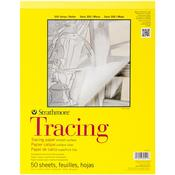 """25lb 50 Sheets - Strathmore Tracing Paper Pad 11""""X14"""""""