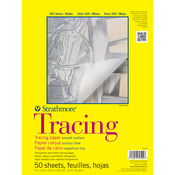 "25lb 50 Sheets - Strathmore Tracing Paper Pad 9""X12"""