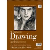 "80lb 24 Sheets - Strathmore Medium Drawing Paper Pad 11""X14"""