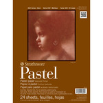"""80lb 24 Sheets - Strathmore Assorted Pastel Paper Pad 9""""X12"""""""