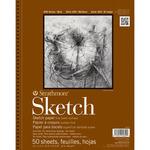 "5.5""X8.5"" Strathmore Sketch Paper Pad"